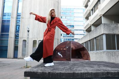 Découvrez le travail de Mylène L'Orguilloux, créatrice de MILAN AV-JC, une marque de patrons qui met le zero waste design au centre de sa démarche.